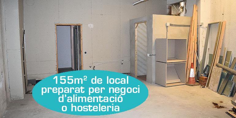 LOCAL COMERCIAL A MANLLEU (CARRETERA D'OLOT)