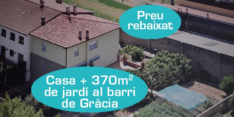 CASA AL BARRI DE GRACIA (AVDA DIPUTACIÓ)