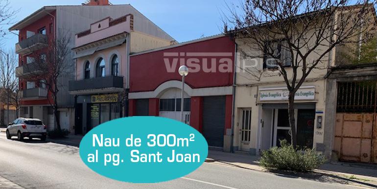 NAU COMERCIAL DE 290M2 A MANLLEU