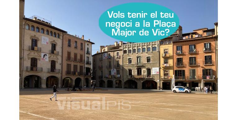LOCAL COMERCIAL EN LLOGUER A LA PLAÇA MAJOR DE VIC