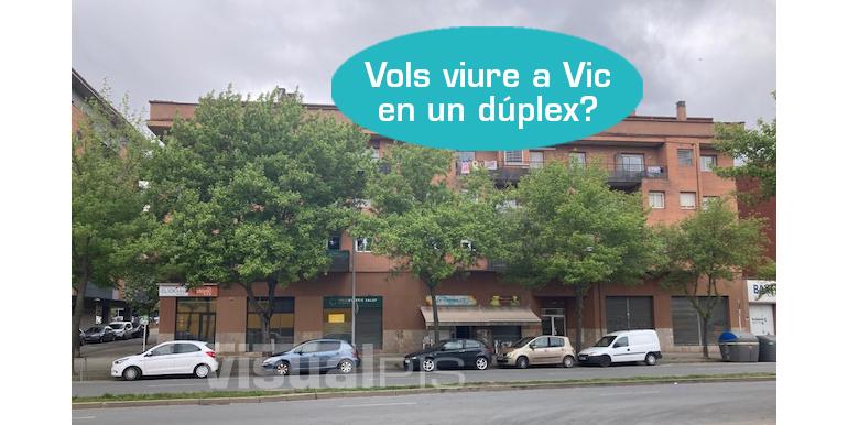 DÚPLEX EN VENDA AL CARRER TORELLO DE VIC