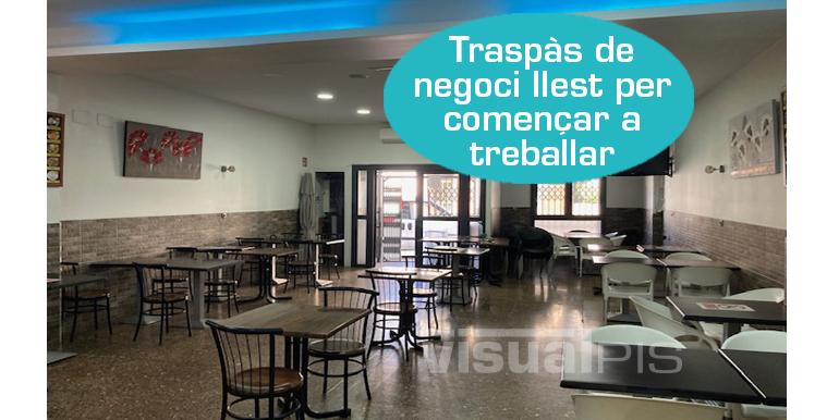 BAR-RESTAURANT EN TRASPÀS AL PASSEIG SANT JOAN