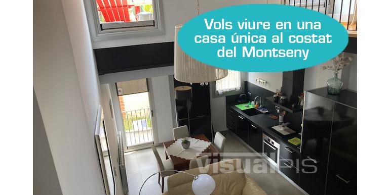 CASA EN VENDA AL CENTRE D'ARBÚCIES CARRER MAUS