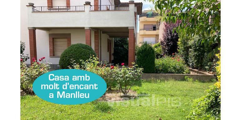 CASA A MANLLEU (CARRER MONTSERRAT)